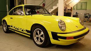 PORSCHE 911 2.7 Carrera restaurée chez Atelier 76