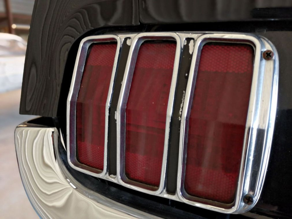 Avant travaux - FORD Mustang Fastback