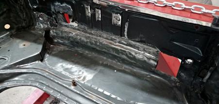 Avant travaux - Projet transformation PORSCHE 911 en RSR