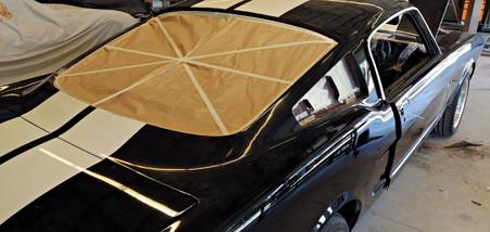 Ponçage préliminaire - FORD Mustang Fastback