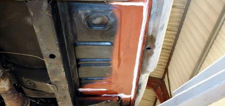 FORD Mustang cabriolet 1965 : bas de caisse droit