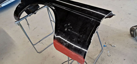Ajustage ailes avant - FORD Mustang Fastback