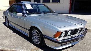 BMW 635 CSi restaurée chez Atelier 76