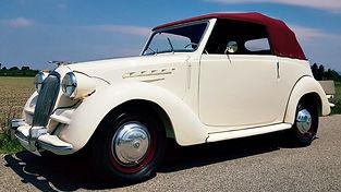 SIMCA 8 1200 cabriolet restaurée par Atelier 76