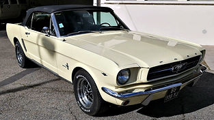 FORD Mustang 1964 cabriolet restaurée chez Atelier 76