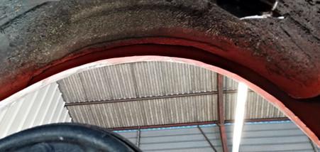 Réparation intérieur d'aile arrière gauche - FORD Mustang Fastback