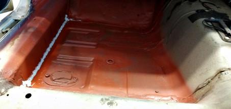 FORD Mustang cabriolet 1965 : bas de caisse gauche