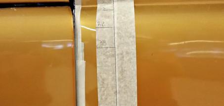 CHEVROLET C10 1963 - Ajustement des ouvrants