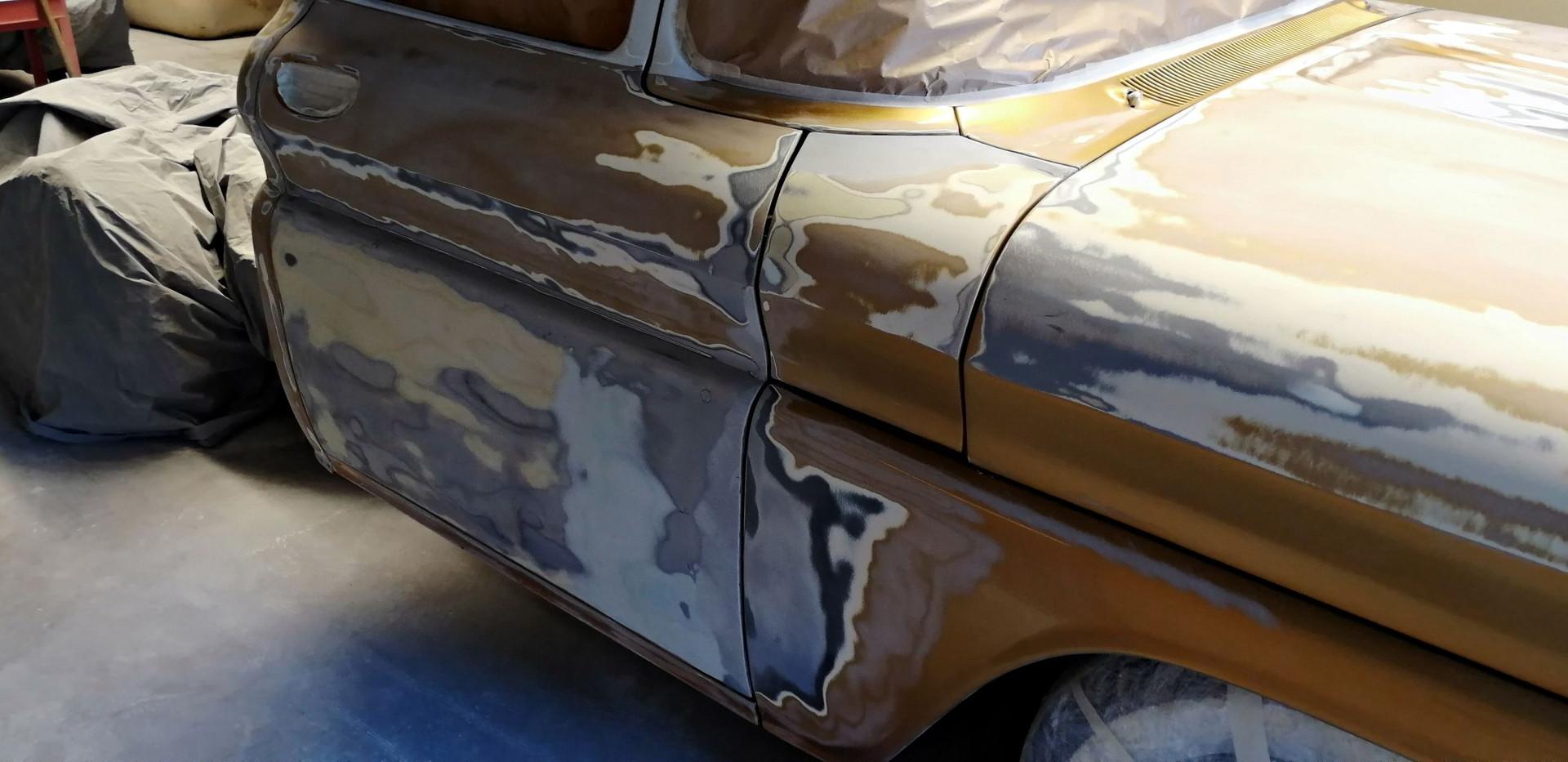 CHEVROLET C10 - Poncage de la peinture
