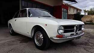 ALFA ROMEO 1300 GT restaurée chez Atelier 76