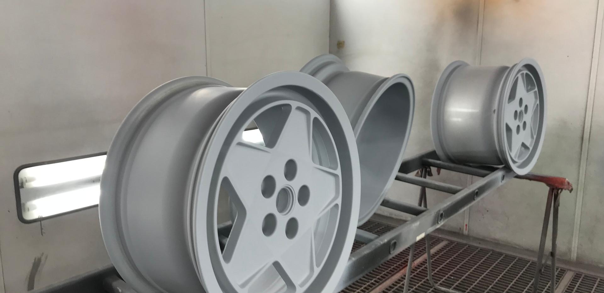 FERRARI Testarossa - rénovation des jantes