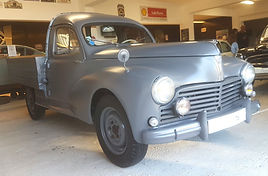 PEUGEOT 203 Pick-up restauré chez Atelier 76