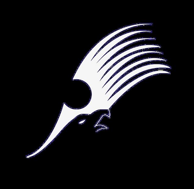 Ylläksen Nousun logo_Sinisellä Pohjalla
