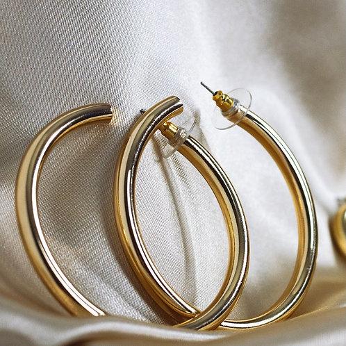 Big T Earrings