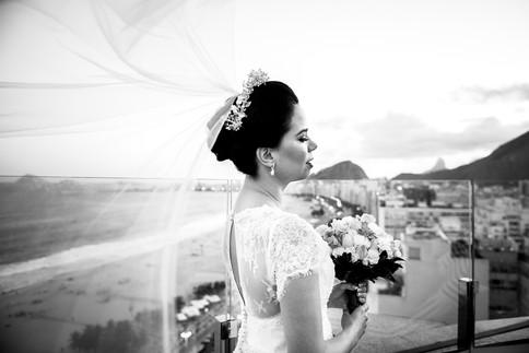 Fotografia Making of - casamento