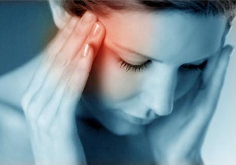 Maux de tête d'une personne electrosensible