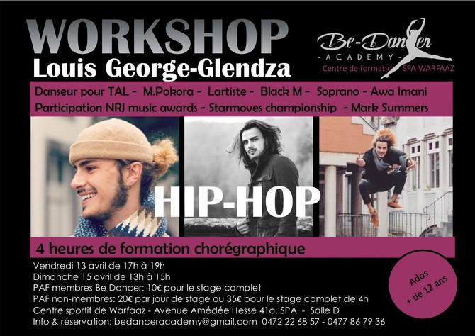 WORK SHOP Hip Hop New Style Louis George Glendza