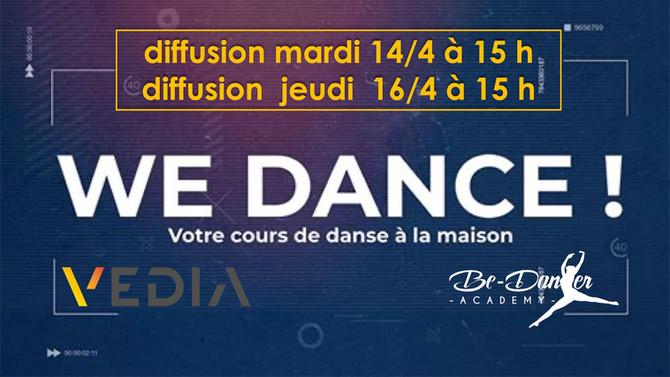 WE DANCE SEMAINE 13/4