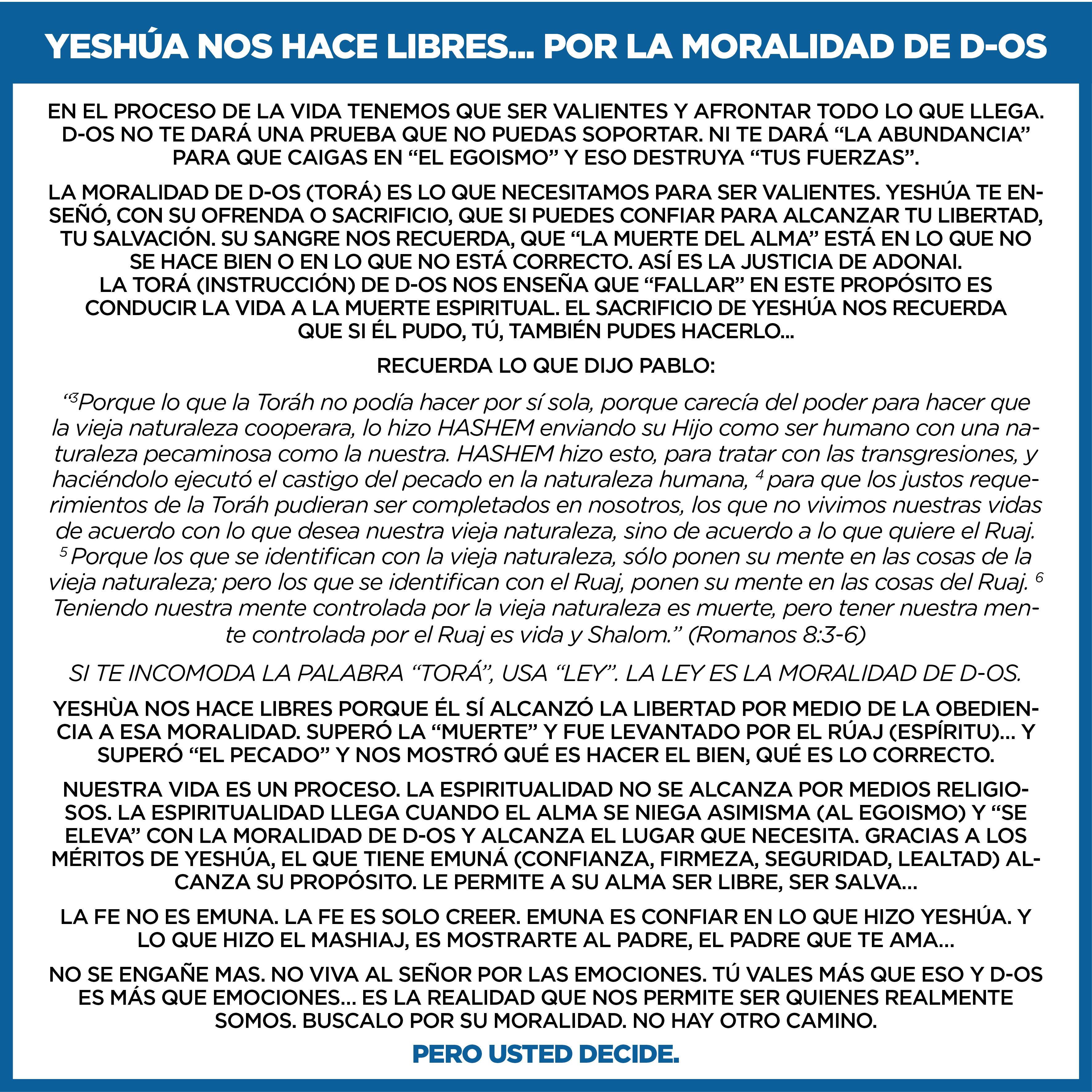 BANNER YESHUA_LA LIBERTAD