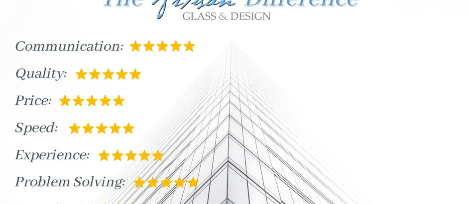 Why Artisan Glass & Design is the Best Glazing Contractor
