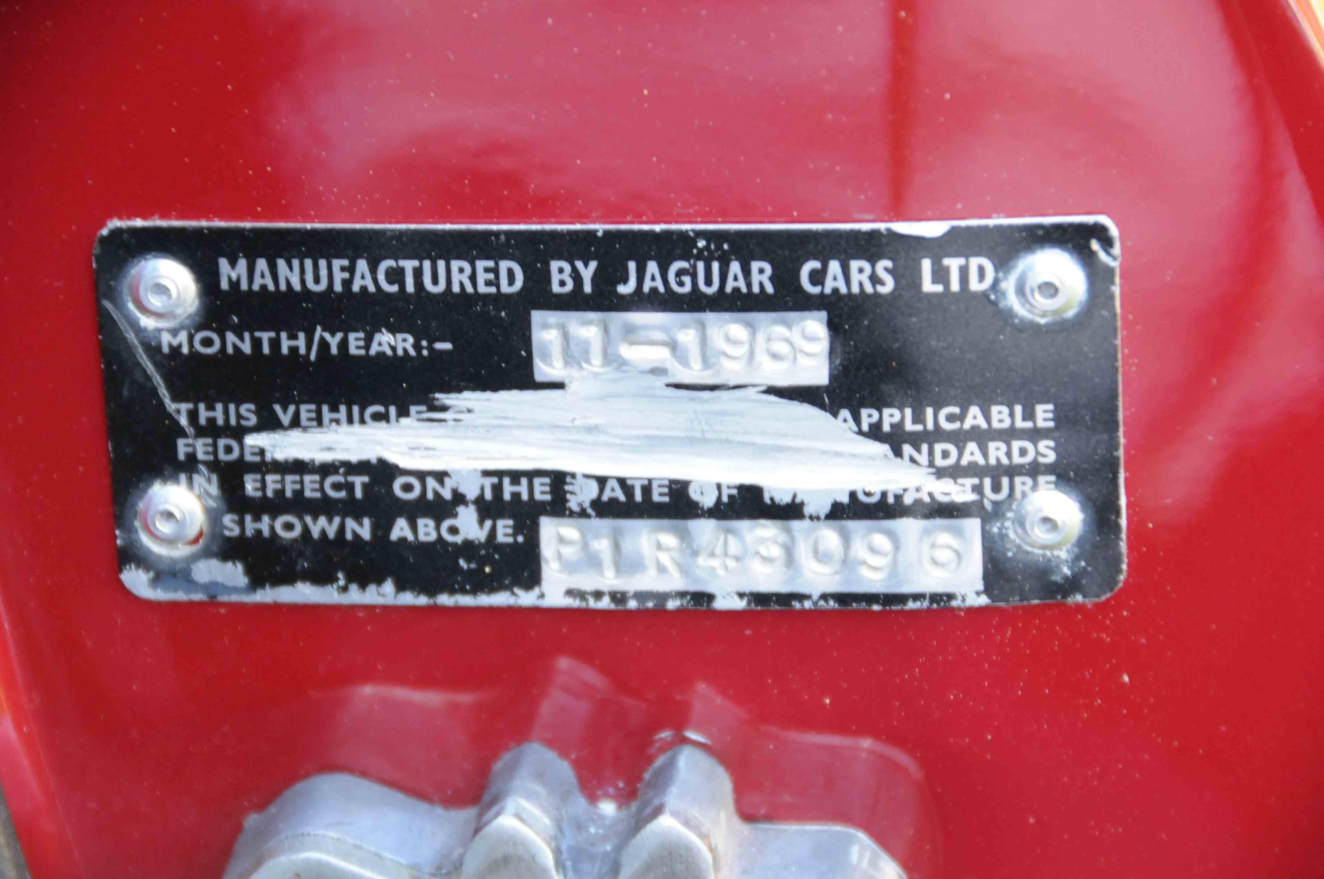 Jaguar E Type s2 coupè 1970