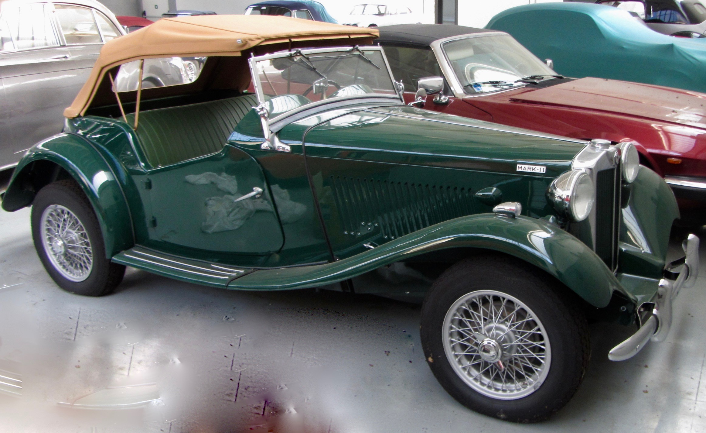 MG TD 1952