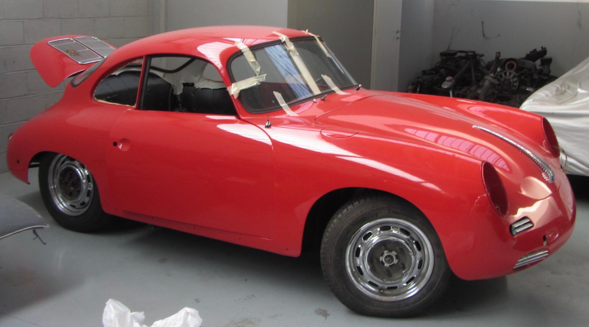 PORSCHE 356SC - 1