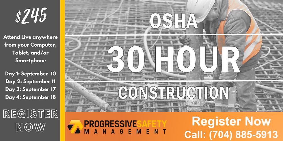 OSHA 30 - Construction