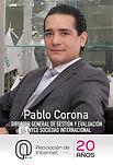 Pablo Corona  Asociación de Internet