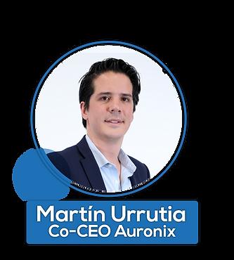 Martín Urrutia, CO-CEO de Auronix
