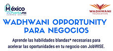 Wadhwani Opportunity para negocios