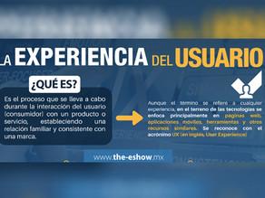 ¿Sabes qué es la experiencia del usuario?