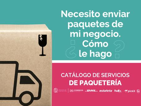 #LeAtiendoporInternet presenta su segundo folleto descargable de servicios de paquetería