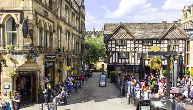 Regeneration of Manchester's medieval quarter