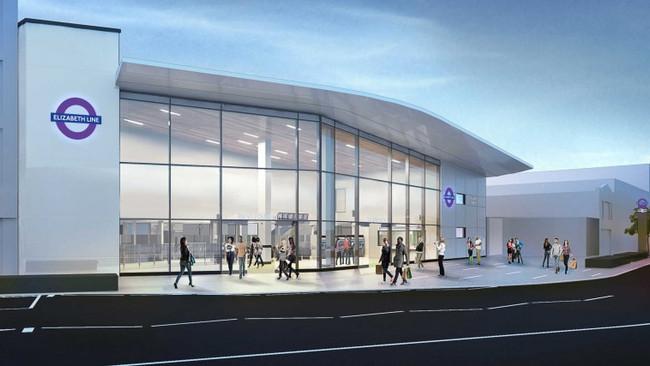 Ilford Crossrail Station begins work
