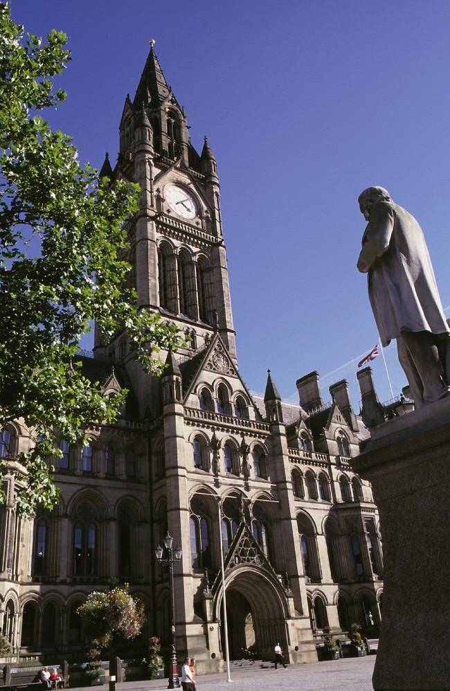 Manchester's town hall and The Factory construction projects create social value