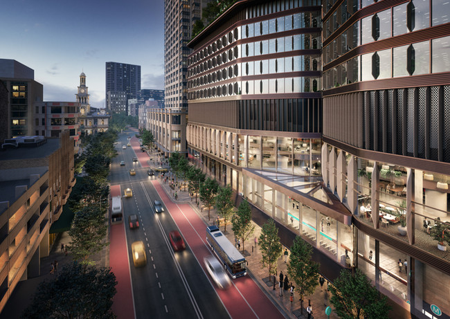 Transport-led development and city gateways