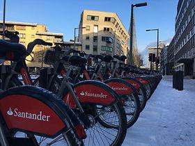 Santander bikes Bankside.JPG