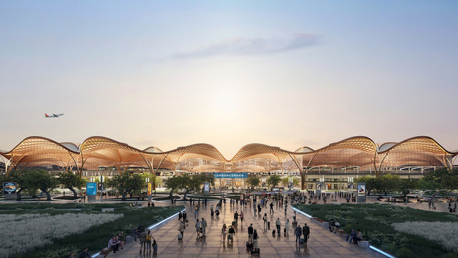 Grimshaw talks about its new Chinese airport commission at Future Cities Forum