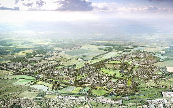 Green belt housing model for Hertfordshire