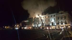 Fire destroys Exeter's medieval heritage