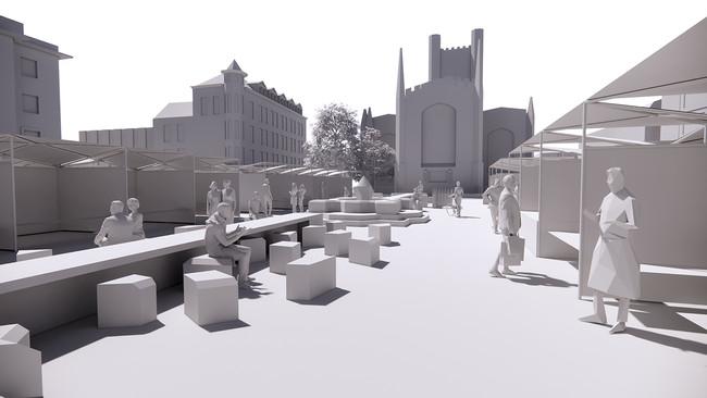 Plans to invigorate Market Square in Cambridge
