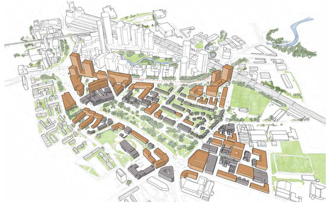 Manchester's Ardwick Green heritage, housing and net zero regeneration