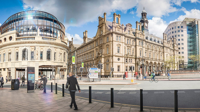 Future Cities Forum member on the shortlist for Leeds City Square