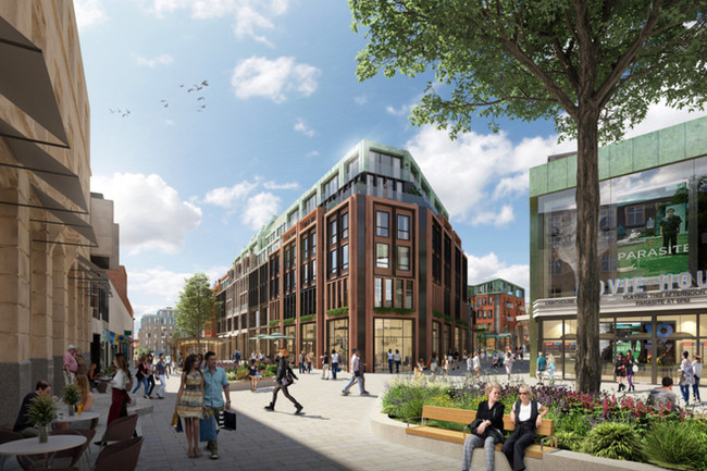 Chapman Taylor's City Centre South, Coventry, re-design
