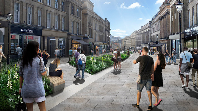 Re-designing our streets and city centres post Covid-19