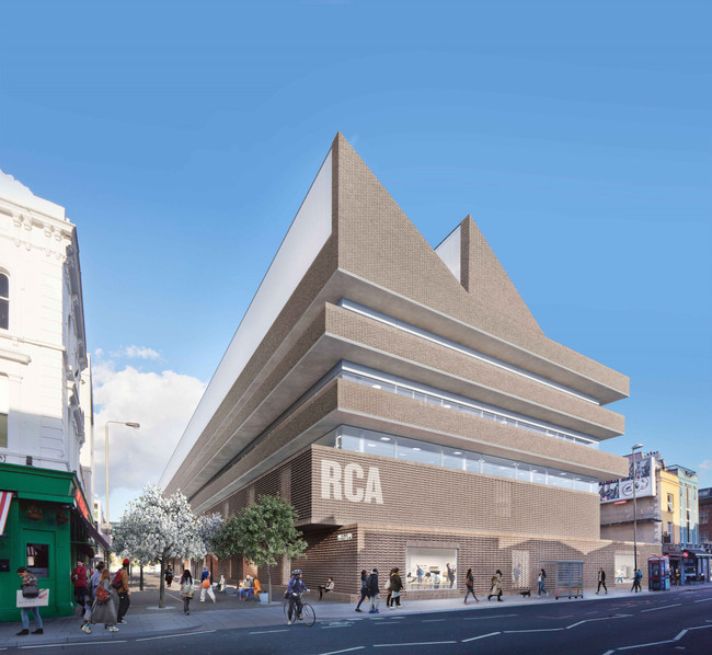 Royal College of Art expansion in Battersea cultural quarter