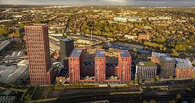 Digbeth Upper Trinity Street Birmingham towers.jpg