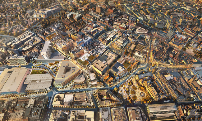 Sheffield's future in the heart of the city