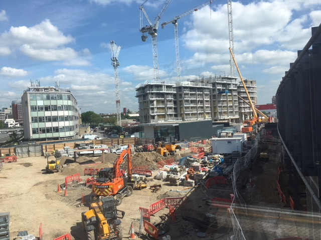 The construction of affordable homes in White City leads economic recovery